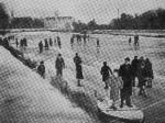 1939 - Dec - Skating on frozen Liffey (from New Link Dec74)